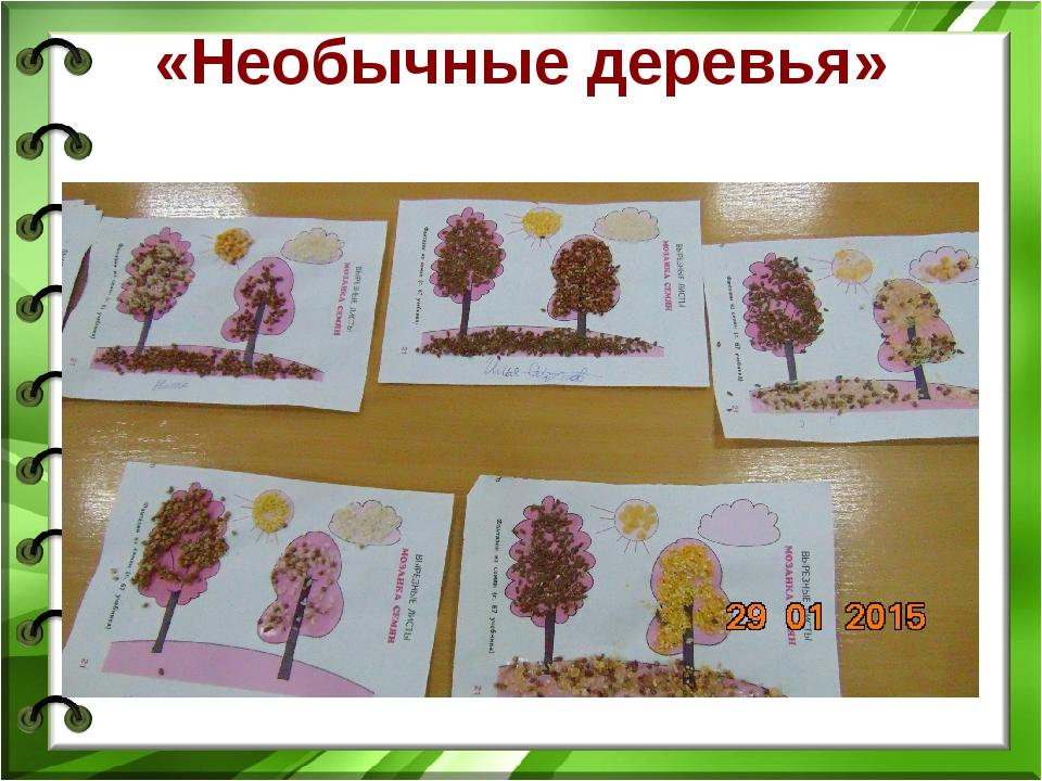 «Необычные деревья»