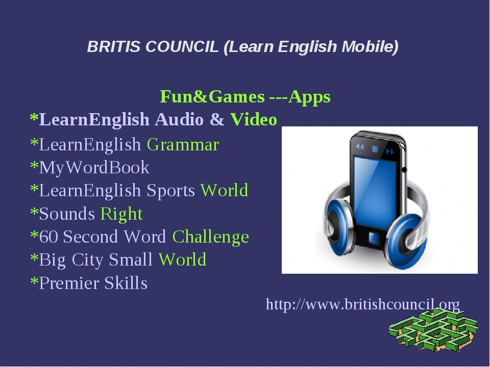 BRITIS COUNCIL (Learn English Mobile) Fun&Games ---Apps *LearnEnglish Audio &...
