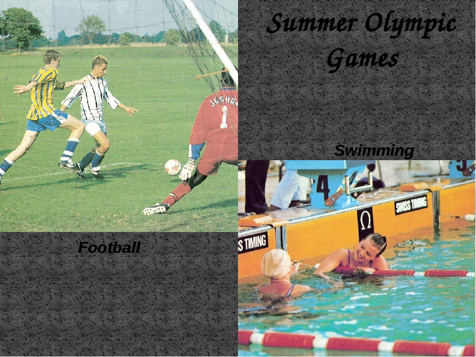 Summer Olympic Games Swimming Football