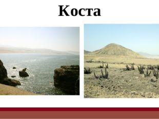 Коста Коста тянется узкой полосой вдоль берега Тихого океана, представляет со