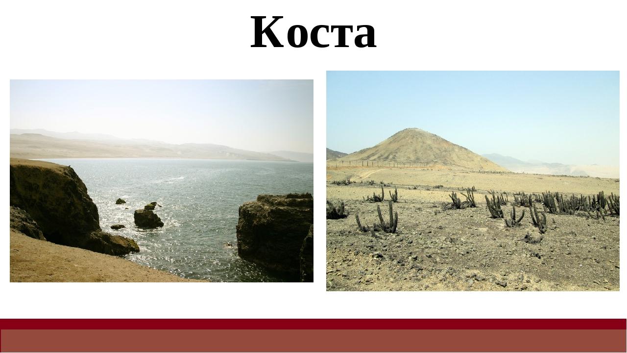 Коста Коста тянется узкой полосой вдоль берега Тихого океана, представляет со...