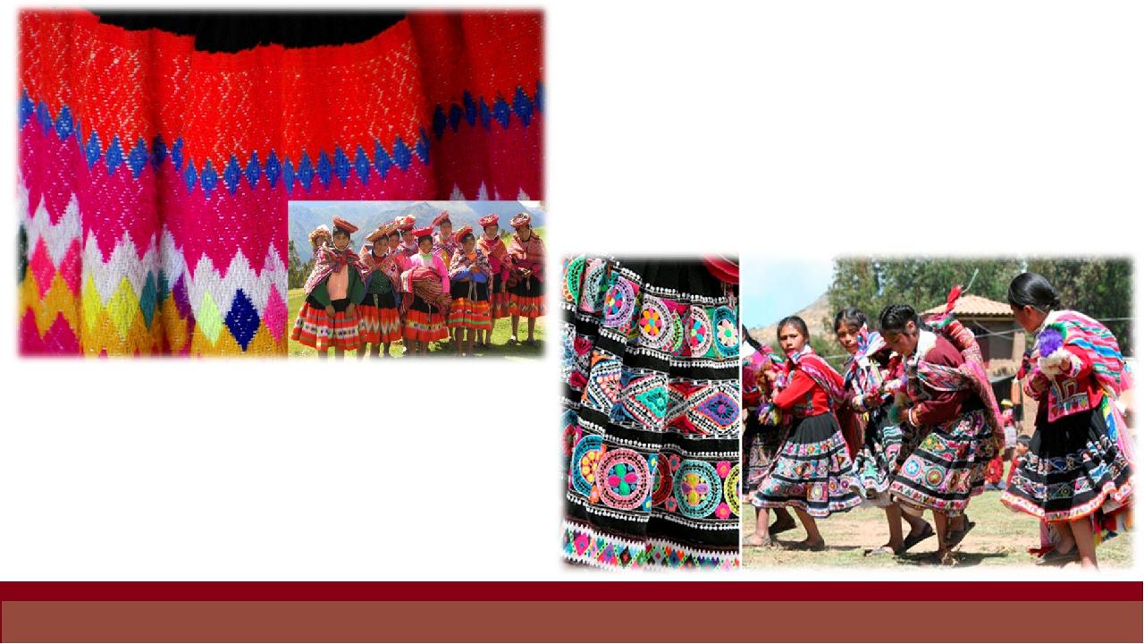 Женщины в Перу не носят пончо. Вместо пончо у них есть льикльи, дизайн котор...