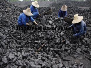 Полезные ископаемые Китай богат разнообразными видами топливных и сырьевых м