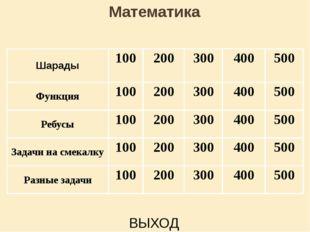 Шарады 300 ответ Счастливой цифрой ту считают, При счете её применяют . А «M