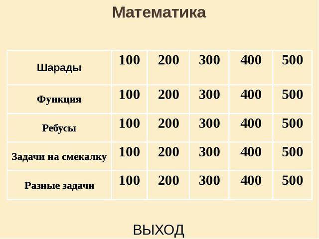 Шарады 300 ответ Счастливой цифрой ту считают, При счете её применяют . А «M...
