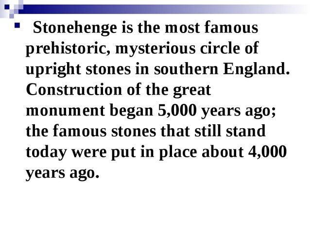 Stonehenge is the most famous prehistoric, mysterious circle of upright sto...
