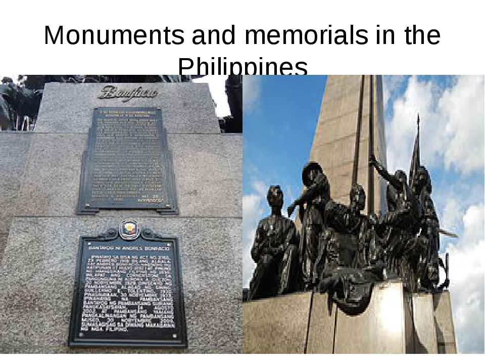 Monuments and memorials in the Philippines