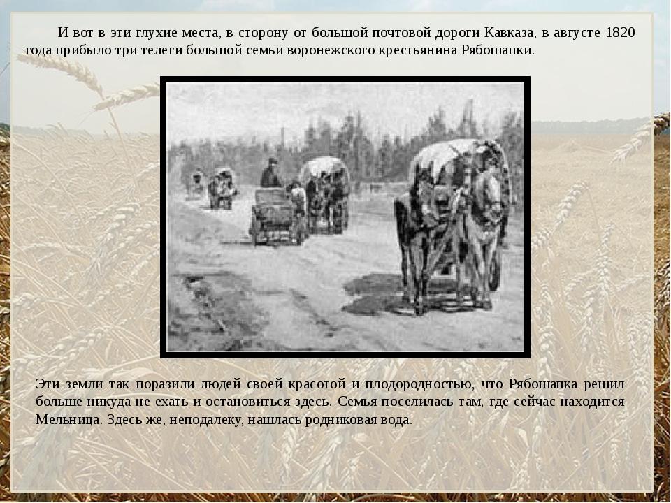 И вот в эти глухие места, в сторону от большой почтовой дороги Кавказа, в авг...