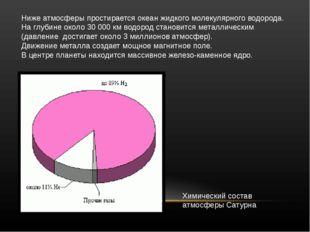 Нижеатмосферыпростираетсяокеанжидкогомолекулярноговодорода. Наглубине