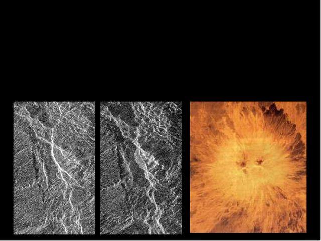Поверхность Венеры имеет много черт подобных Земным. На большей части планеты...