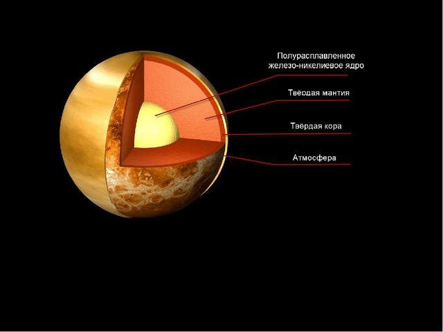 Согласно самой правдоподобной гипотезе, венерианское ядро еще не начало отвер...
