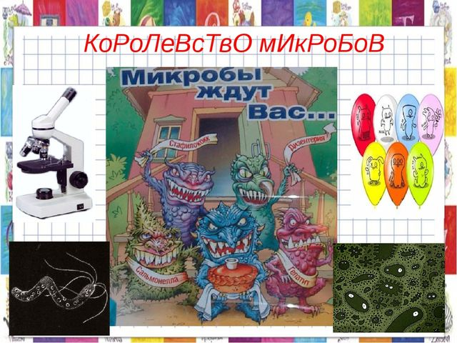 КоРоЛеВсТвО мИкРоБоВ
