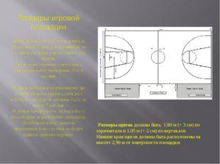 Размеры щитов должны быть: 1,80 м (+ 3 см) по горизонтали и 1,05 м (+ 2 см)