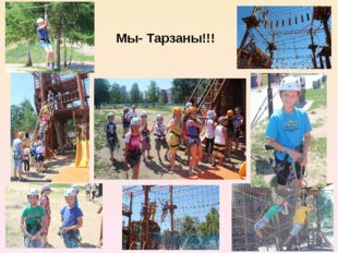 Мы- Тарзаны!!!