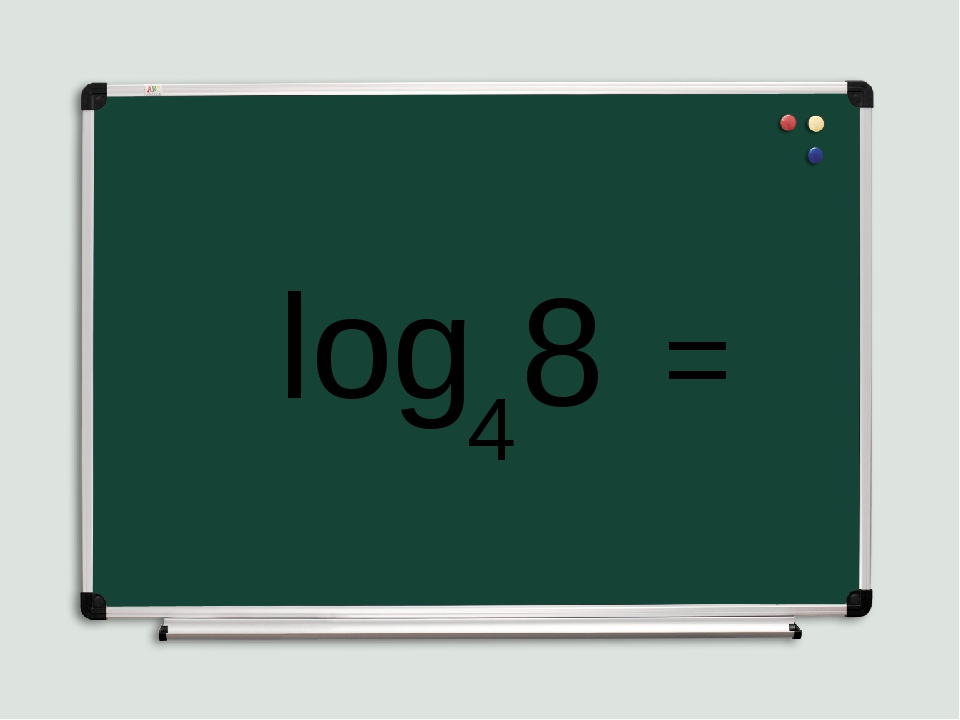 log 4 8 =