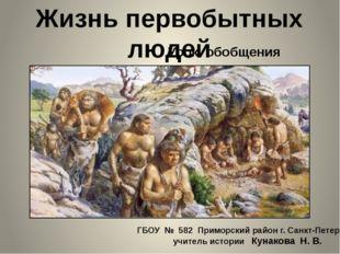 ГБОУ № 582 Приморский район г. Санкт-Петербург учитель истории Кунакова Н. В