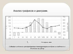 Анализ графиков и диаграмм.