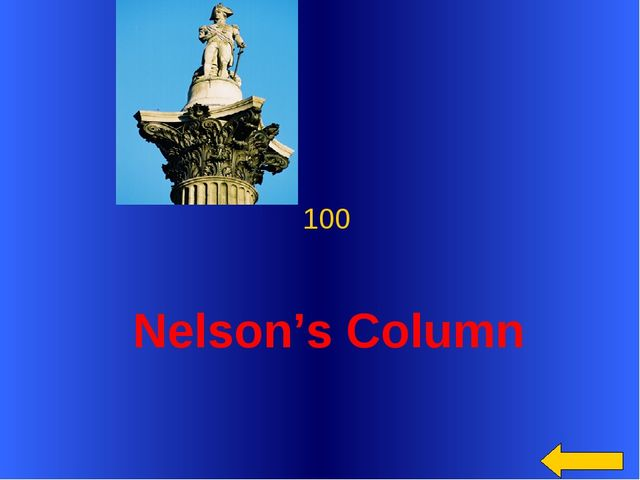 Nelson's Column 100