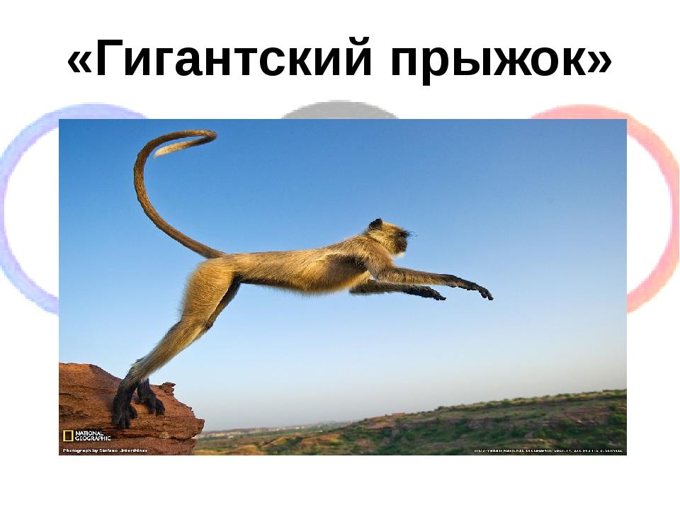 «Гигантский прыжок»