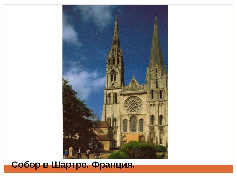 Собор в Шартре. Франция.