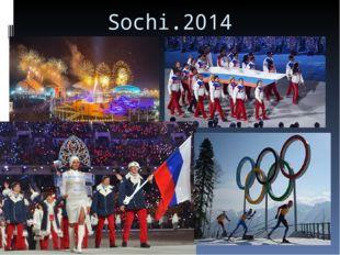 Sochi.2014