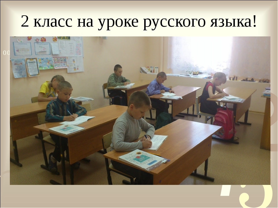 2 класс на уроке русского языка!