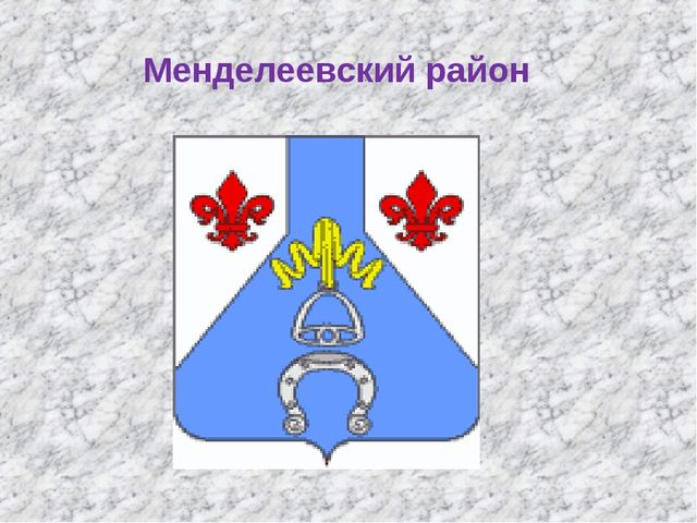 Менделеевский район