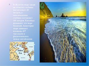 ВЖелтомморесредняя отметка глубины насчитывает 40 метров, а максимальная г