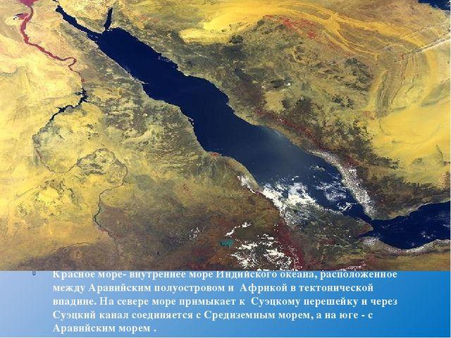 Красное море- внутреннее море Индийского океана, расположенное междуАравийск...