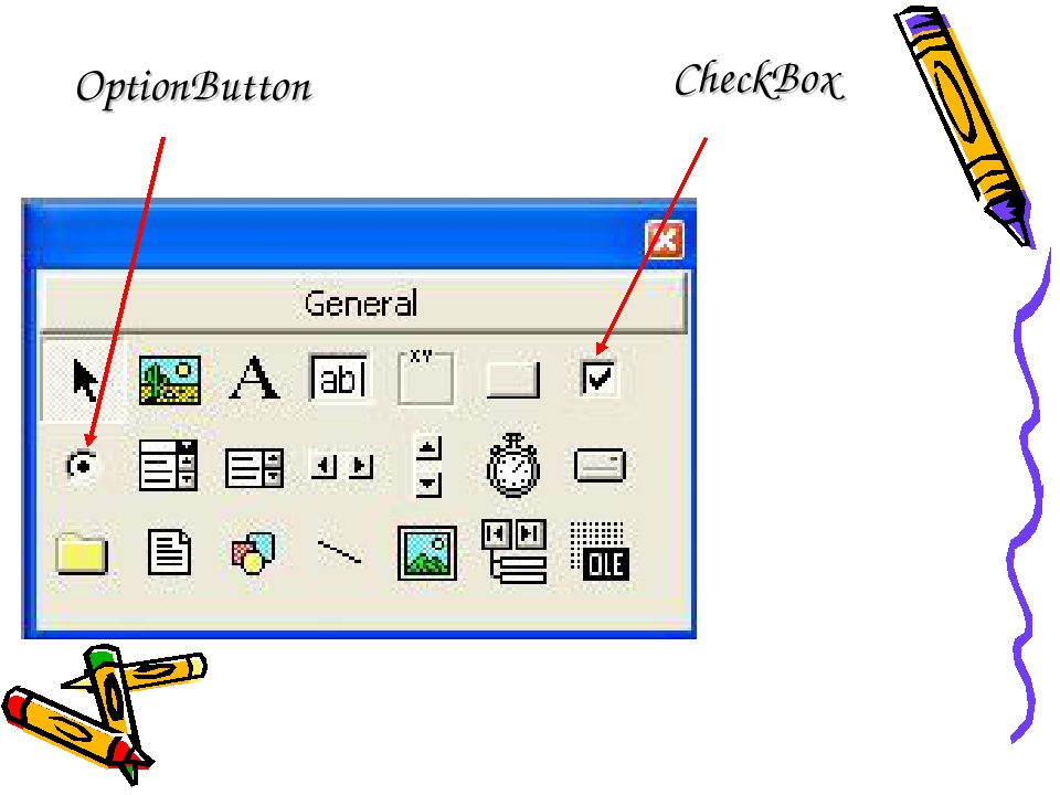 OptionButton CheckBox
