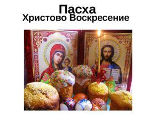 Христово Воскресение Пасха