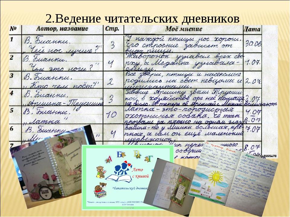 Как сделать красивый читательский дневник