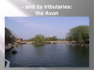 - and its tributaries: the Avon