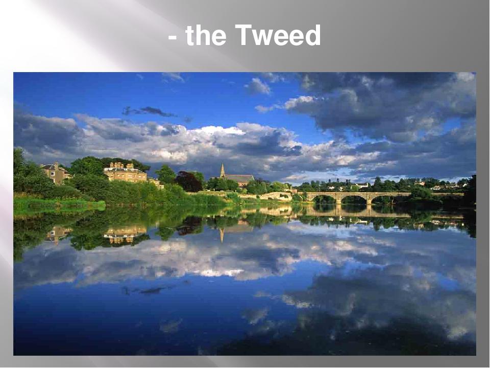 - the Tweed