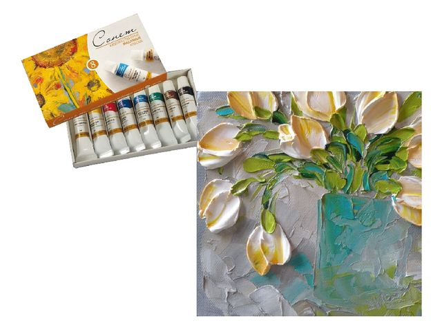 Масло, наверное, самая главная живописная краска, она дает художнику самые бо...