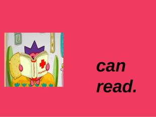 can read.