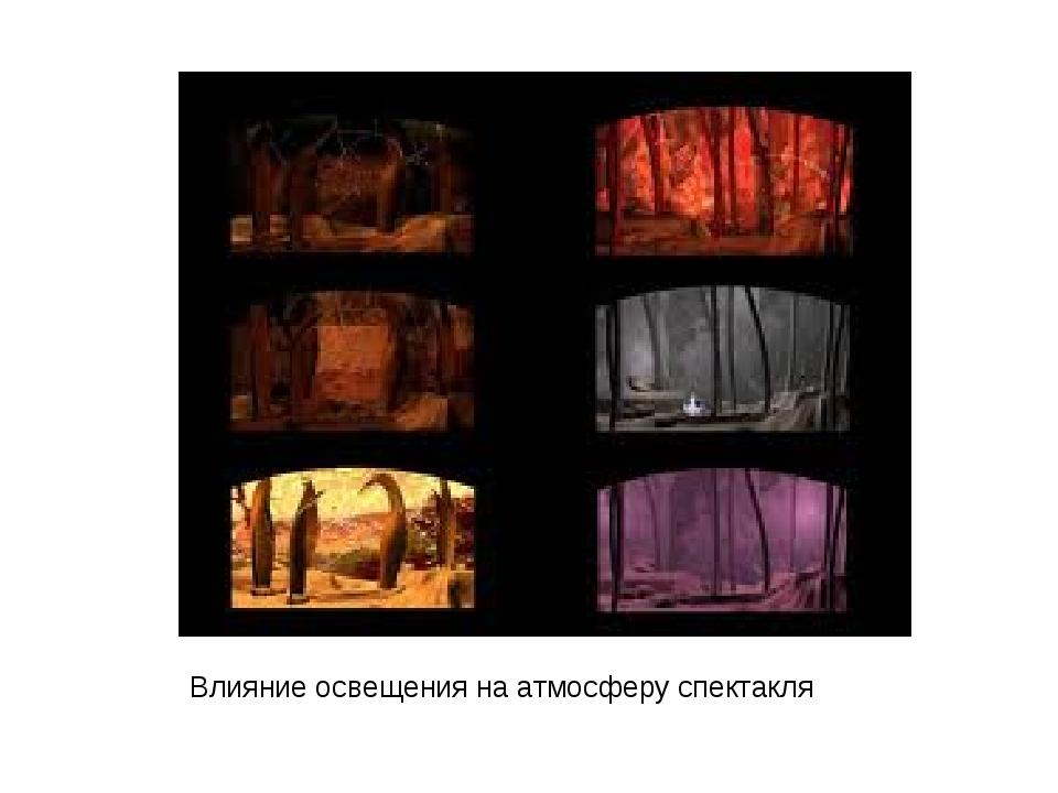 Влияние освещения на атмосферу спектакля