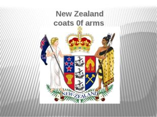 New Zealand coats 0f arms