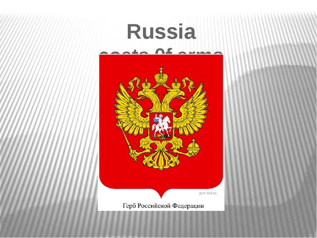 Russia coats 0f arms