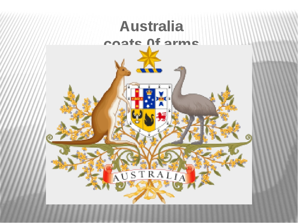 Australia coats 0f arms