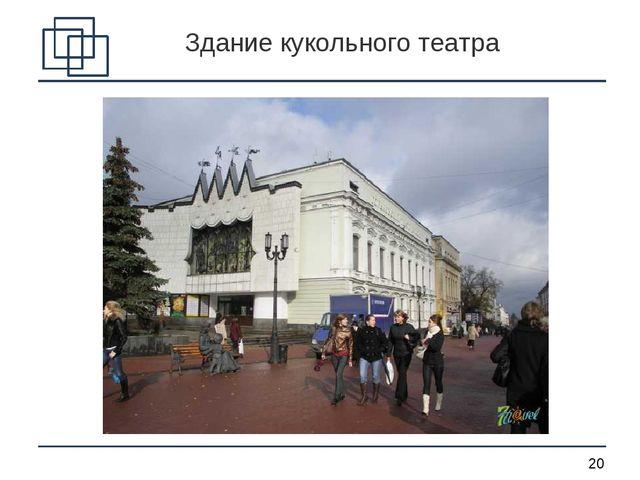 Здание кукольного театра *