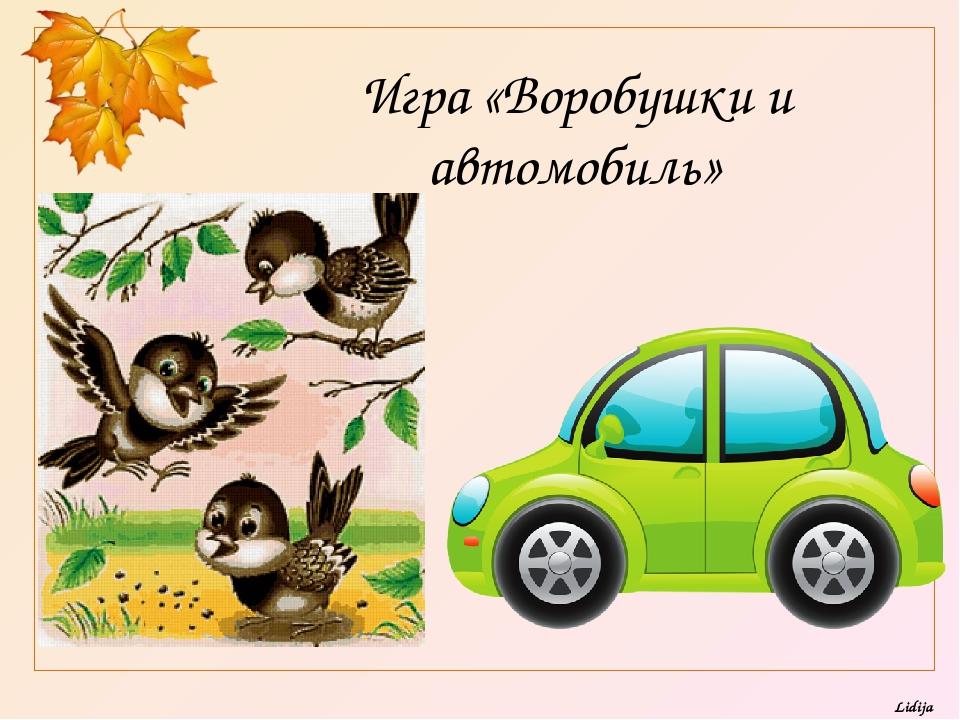 Игра «Воробушки и автомобиль» Lidija