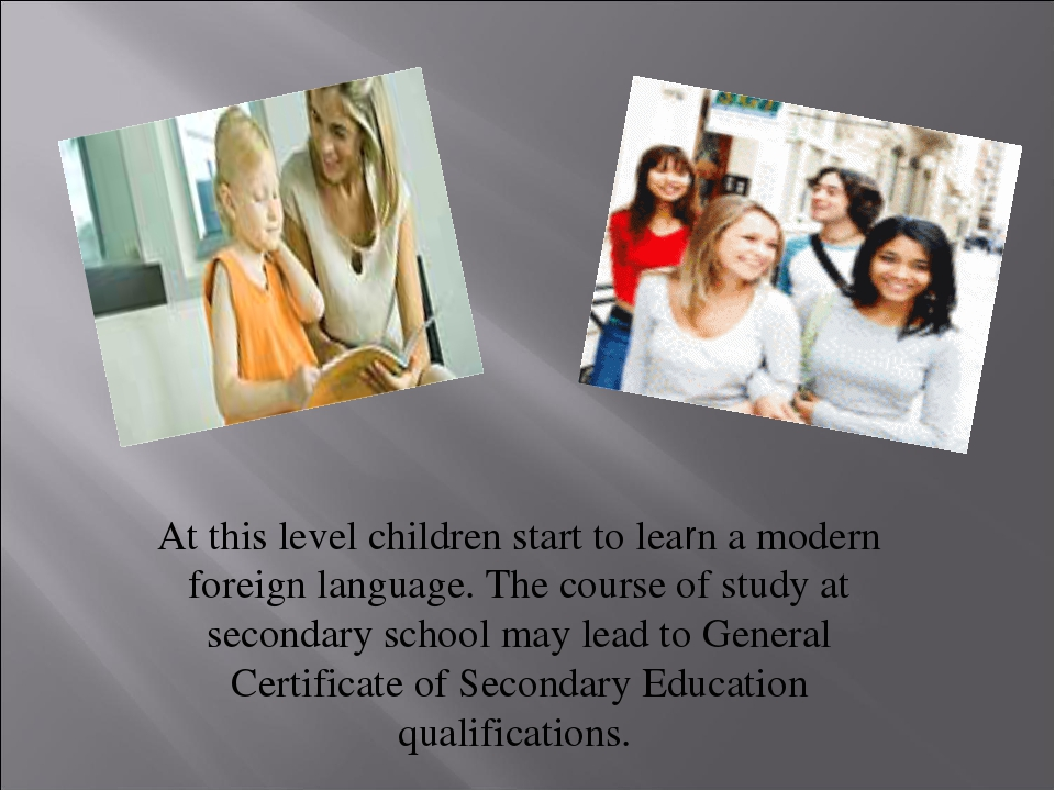 At this level children start to learn a modern foreign language. The course o...
