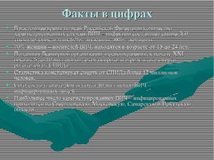 Факты в цифрах В настоящее время по всей Российской Федерации количество заре