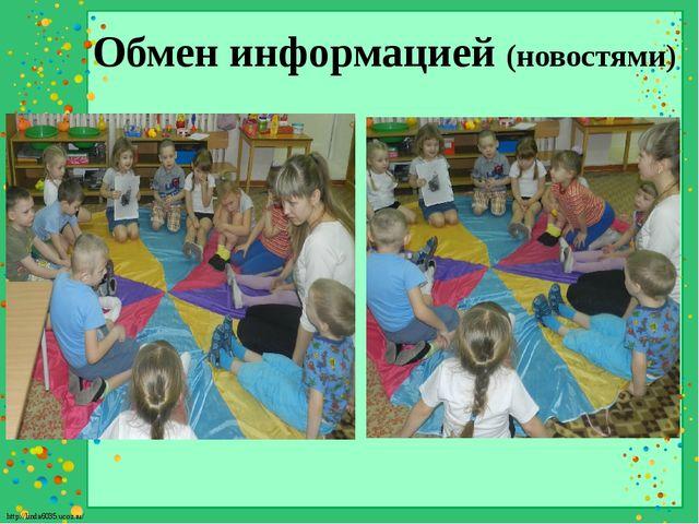 Обмен информацией (новостями) http://linda6035.ucoz.ru/