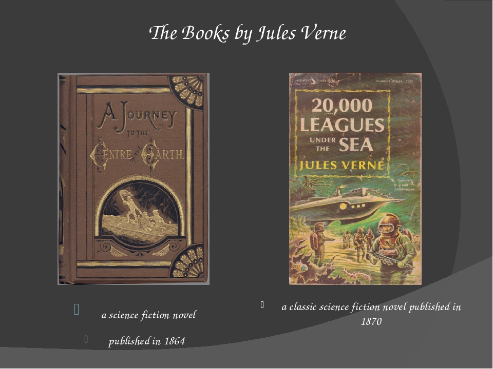 The Books by Jules Verne  a science fiction novel published in 1864 a classic...