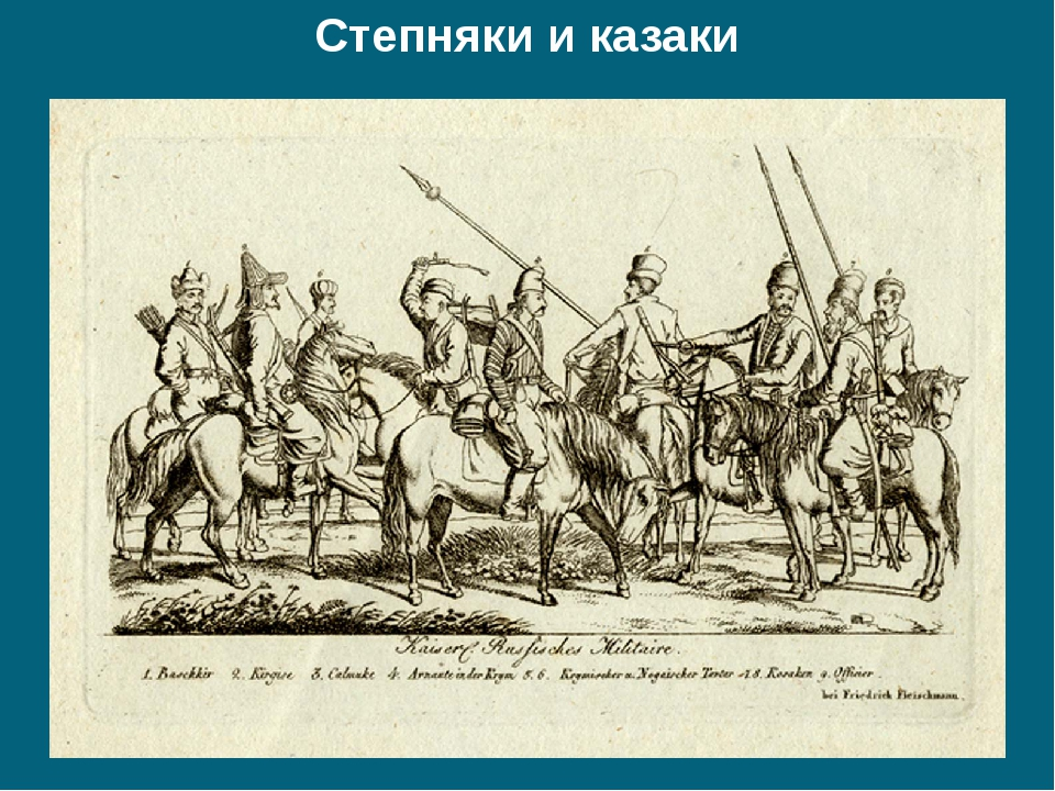 Степняки и казаки