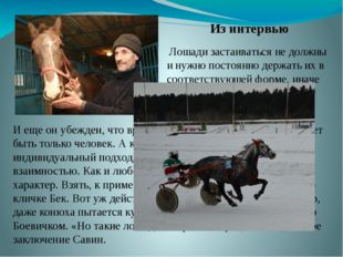 Лошади застаиваться не должны и нужно постоянно держать их в соответствующей