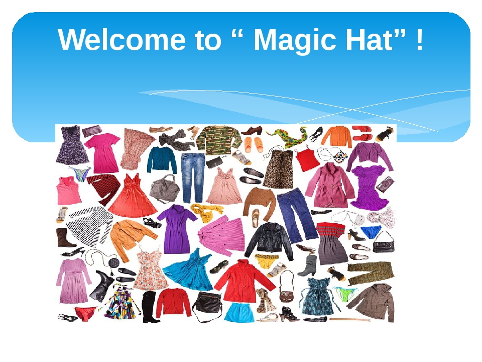 """Welcome to """" Magic Hat"""" !"""