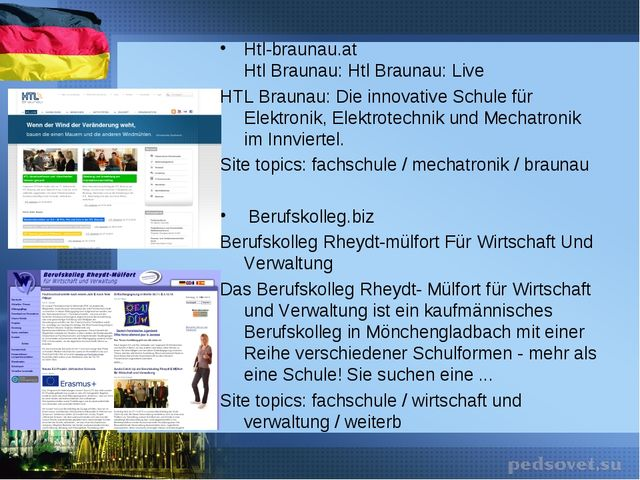 Htl-braunau.at Htl Braunau: Htl Braunau: Live HTL Braunau: Die innovative Sch...